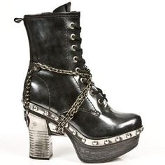 New Rock Boots - Z008 C1 Ladies Boots 60 DAYS CUSTOM MAKE ONLY
