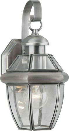 View the Forte Lighting 1101-01 Outdoor Wall Sconce from the Exterior Lighting Collection at Build.com.