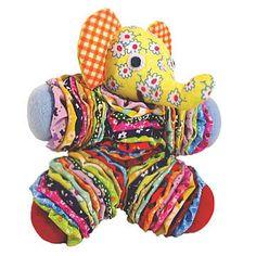 Free Yo-Yo Doll Patterns | Jenny Kraus's bright, happy Yo Yo Dolls are handmade by Bolivian ...