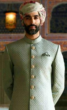 Mens Wedding Wear Indian, Sherwani For Men Wedding, Wedding Dresses Men Indian, Groom Wedding Dress, Indian Groom Wear, Wedding Men, Indian Men Fashion, Mens Fashion Suits, Man Fashion