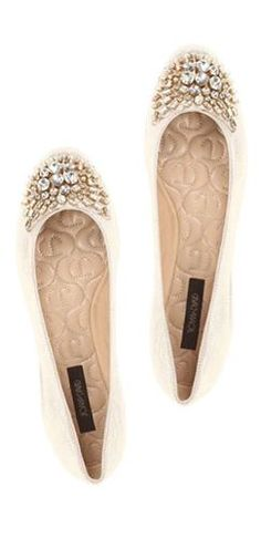 jeweled flats :: so sparkly!
