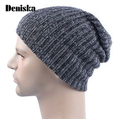 Aliexpress.com : Buy 2017 Energy Men Women Baggy Warm Crochet Winter Wool Knit Ski Beanie Skull Slouchy Caps Hat Stretch Fabric from Reliable fabric flowers for shoes suppliers on deniska ali Store