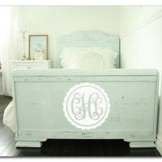 cool for a footboard or chest at the foot of the bed.