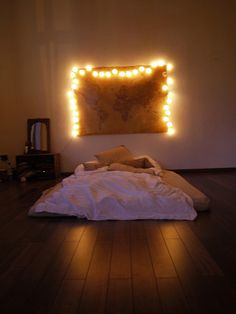 Simple, but would love to curl up in that bed.