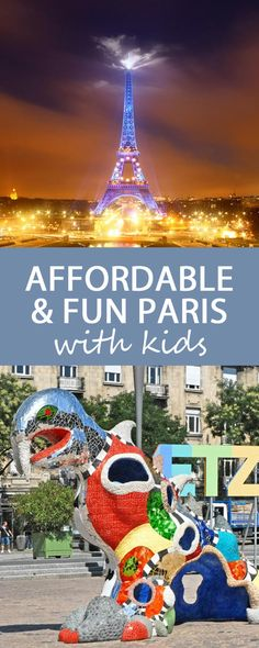 10 Affordable and Fun Things To Do WIth Kids in Paris