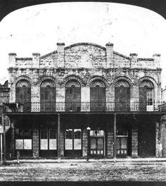 Florida Memory - Jacksonville theater - Jacksonville, Florida 1870s