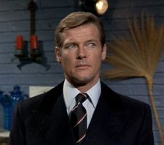 Roger Moore as James Bond in Live and Let Die (1973)