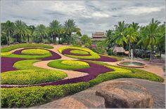 Jardines de Taylandia
