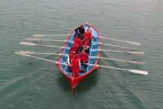 The crew of Venezia during a training session