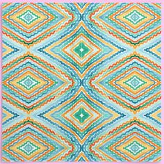 A HC Argyle. Repeat diamond pattern for textile. Really excited to see this printed onto fabric. Diamond Pattern, Repeat, Teal, Textiles, Quilts, Blanket, Printed, Fabric, Tejido