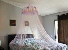 DIY Bedroom Furniture :DIY Canopy Bed : DIY Canopy Bed