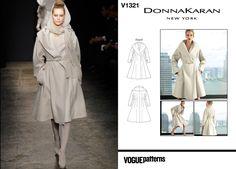 Donna Karan Fall 2011 / Vogue V1321