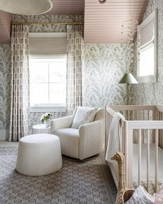 Studio McGee (@studiomcgee) • Instagram photos and videos Pom Pom Mobile, Design A Space, Studio Mcgee, Nursery Furniture, Nursery Design, Cool Lighting, Decoration, Interior Design, Interior Decorating
