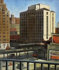 Ault, George (1891-1948) - Urban Transportation