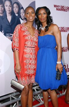 Identical Twins - actress Tasha Smith and sister Sidra Smith, director and producer. If it weren't for their different hairstyles, it would be almost impossible to tell them apart.