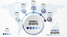 Business infographic : How to make creative business infographic design Illustrator tutorial Here is an