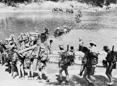 "The Chindits were a British India 'Special Force'"" that served in Burma and India in 1943 and 1944 during the Burma Campaign in World War II."