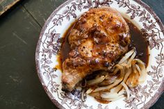 Vermont Maple Syrup Pork: this sauce sounds amazing! Sweet, smoky, spicy, savory goodness! Great on chicken too.
