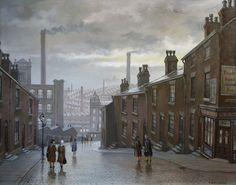 """""""Mill Girls""""..Oil by Steven Scholes"""
