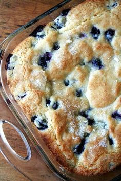 Buttermilk Blueberry Breakfast Cake #blueberry #cake #buttermilk #homemade