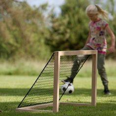 Fussballtor DIY Idee