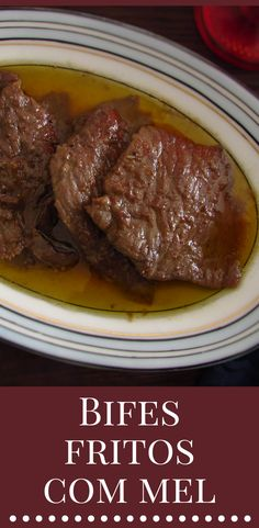 Do you like steaks and want to prepare a simple and tasty recipe? These fried beef steaks aromatized with the delicious honey taste are a great idea for a lunch or dinner among friends! Serve with white rice or french fries. Honey Recipes, Meat Recipes, Recipies, Crepes Filling, Fried Beef, Latest Recipe, Creamy Sauce, Food And Drink, Yummy Food