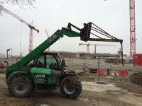 ŁÓDŹ - Wynajem ładowarki teleskopowej JCB 7m