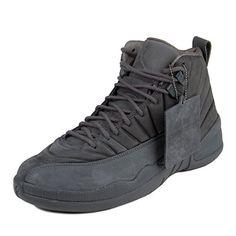 95cf5c6bdd82 Nike Mens Public School x Air Jordan 12 Retro Dark Grey Black Suede Size 11