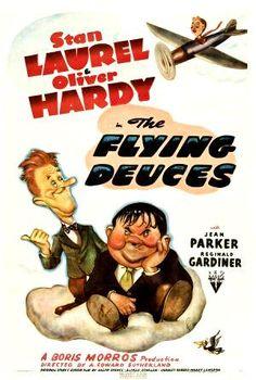 The Flying Deuces, Stan Laurel, Oliver Hardy, 1939