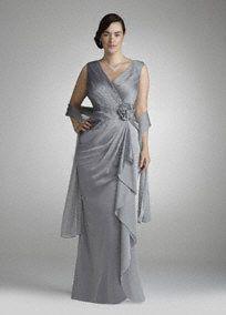 Mother of bride dress at David's Bridal