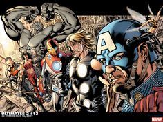 Marvel Comics High Definition Wallpapers