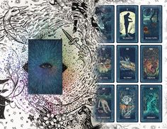 A stunningly beautiful seventy-nine card tarot deck and one-hundred page guidebook created by impressionistic artist James R. Eads.