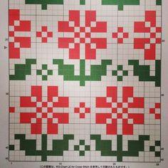 Fair Isle Knitting Patterns, Crochet Square Patterns, Needlepoint Patterns, Knitting Charts, Knitting Books, Knitting Stitches, Knitting Designs, 123 Cross Stitch, Cross Stitch Borders
