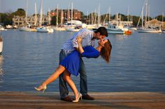 A Waterfront Engagement Session in Annapolis, Maryland ...