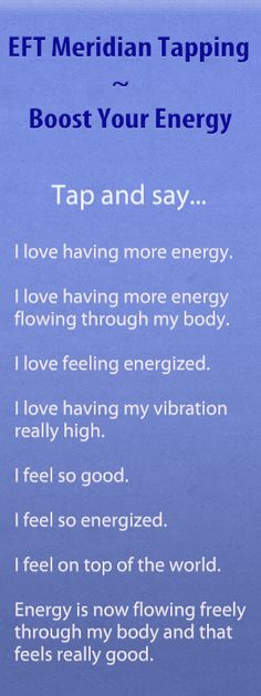 EFT Meridian Tapping Audio – Boost Your Energy | Kathy Atkinson, Success Coach, EFT Tapping Expert, Law of Attraction Specialist, NW Ohio