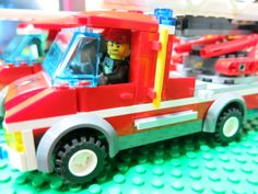 Lego City ( Fire truck )