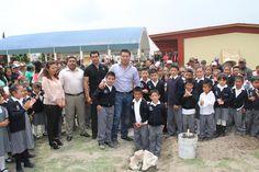 Invierten más de 600 mp en aula de escuela de Palmarito