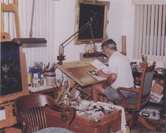 ILLUSTRATION ART: A FEW THOUGHTS ON AN EMPTY STUDIO