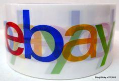 #Ebay Branded Packing #Tape NEW   #BlingBlinkyOfTexas
