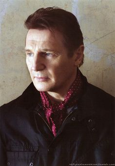 Liam Neeson-- such a great actor! My second favorite!