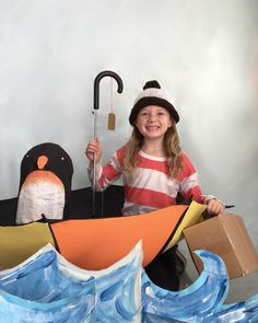Oliver Jeffers' Lost and Found book cover costume for Book Week