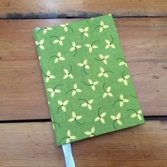 Small Notebook in a Henry Glass Fabric by HandcraftedNotebooks on Etsy