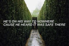 Look Away // Thousand Foot Krutch // music // lyric // quote // song // edit // aesthetic // rock // alternative // green // green aesthetic // nowhere // safe