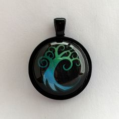 Magic: The Gathering, Simic Sigil Pendant, Keychain, or Magnet by ChicGeekCharms on Etsy https://www.etsy.com/listing/223280851/magic-the-gathering-simic-sigil-pendant