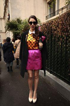 Street style en Paris Fashion Week | Galería de fotos 43 de 168 | Vogue