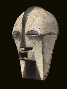 Songye, D.R. Kongo; KIFWEBE mask, 41 cm