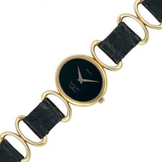 Lady's Gold Wristwatch, Piaget, Van Cleef & Arpels