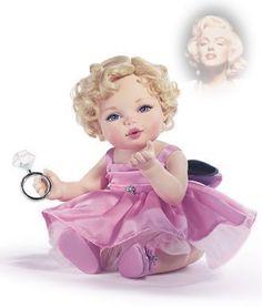 Franklin Mint Marilyn Monroe Baby Doll B11A183 Brand New with COA | eBay