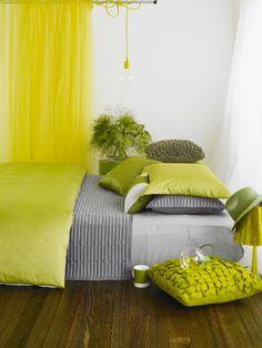 Bedroom Electric Yellow