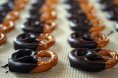 Chocolate Dipped Pretzels on Etsy: Baking My Way